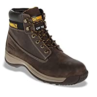 DEWALT Apprentice Brown Safety Work Boots. Steel Toe Cap.Mens Sizes 6-12