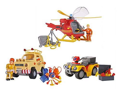 feuerwehrmann sam helikopter SIMBA DICKIE Feuerwehrmann Sam limitiert 4006592009755