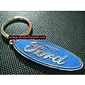 Ford Capri Leder Schlüsselanhänger Schlüsselring Porte-clés 2.8i Ghia Accessoires & Fanartikel
