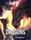 Dragons: An Adult Coloring Book with Fun, Beautiful, and Relaxing Coloring Pages (Perfect Gift for Dragon Lovers)