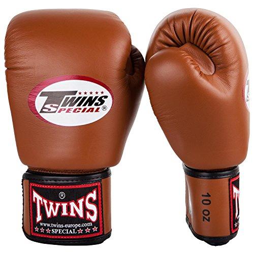 Guantes de boxeo Twins piel Modele Retro, 10 onzas