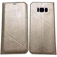 Étui multifonctionnel pour téléphone, Premium Retro Zipper Folio Flip Card Slots Porte-monnaie avec étui rigide magnétique Hander Étui pour Samsung S8 / S8 Plus / S7edge.