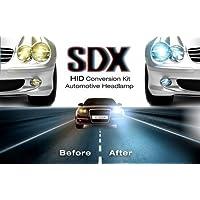 HID DC Xenon Headlight Slim Conversion Kit by SDX, 9007 Dual-Beam Bi-Xenon, 12000K by SDX