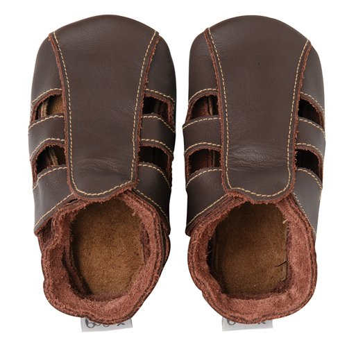 Bobux Contrast Sandal Chocolate - Taille M
