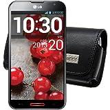 MTT Quertasche mit Gürtelclip für das LG G2 Smartphone schwarz