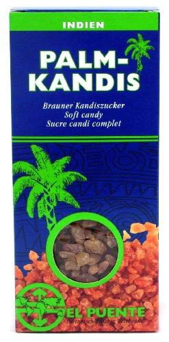 El Puente Palmzucker-Kandis 10er Pack (10 x 200 g Packung)