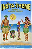 Beistle 52004 Hula Girl and Polynesian G...