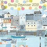 2019 Par L'organisateur Familial De Mer - Calendrier Mural De 12 X 12 En Anglais