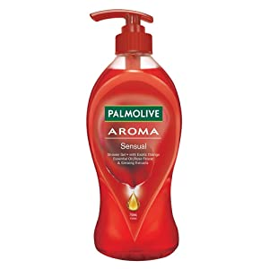 Palmolive Body Wash Aroma Sensual, 750ml Pump, Shower Gel