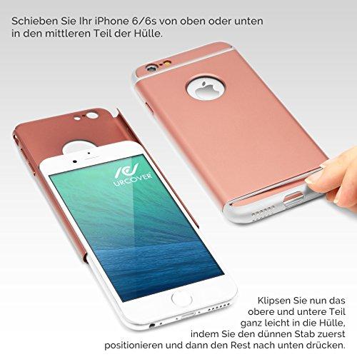 Apple iPhone 6 / 6s Handyhülle von original Urcover® aus Polycarbonat iPhone 6 / 6s Schutzhülle Case Cover Etui Schwarz Rose Gold