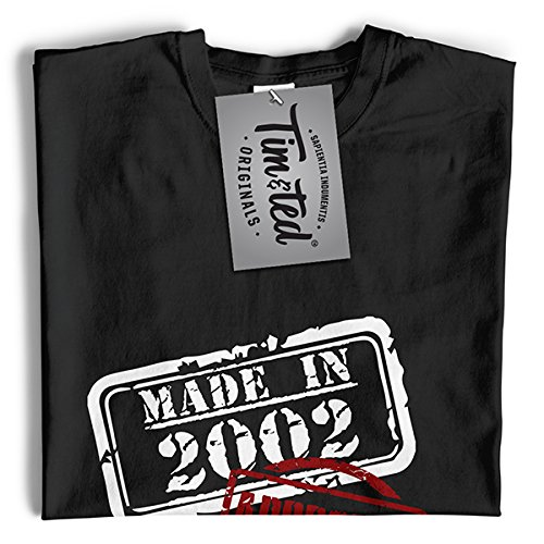 Made In The 1999 Approved Distressed 16 Design Compleanno Anno T-Shirt Da Donna Sky Blue