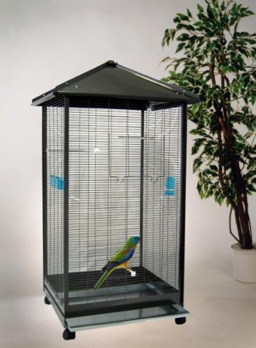 Bird Dream Voliere 'Milano' anthrazit, ca. 79x68x147 cm