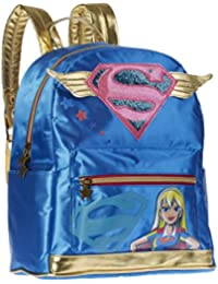 Karactermania DC Super Hero Girls Mochila Infantil, 33 cm, Azul