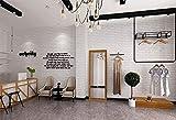 YLCJ Fototapete 9,5M3D dreidimensionale Retro Ziegelsteinmuster wasserdicht und umweltfreundlich überprüft Vliestapete Wandbild Super Fresko für Wohnzimmer Schlafzimmer Wohnkultur B