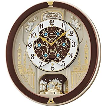seiko melodies in motion musical wall clock manual