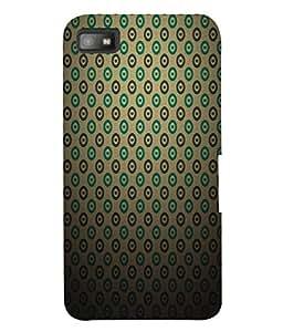Fuson 3D Printed Design Pattern Designer Back Case Cover for Blackberry Z10 - D600
