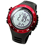 Lad Weather - orologio con altimetro/barometro, impermeabile a 100 metri,...
