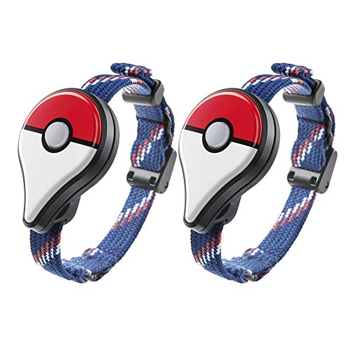 AMAZING DEAL Bluetooth Interactive Forpokemon - AMAZING DEAL 2Pcs Bluetooth Wristband Watch Interactive Figure Toys Forpokemon Go Plus Bluetooth Wristband Bracelet Watch Game Accessory Red(2pcs)