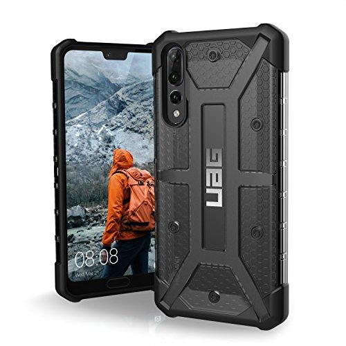 Urban Armor Gear Plasma Schutzhülle nach US-Militärstandard für Huawei P20 Pro - transparent (dunkel) [Verstärkte Ecken I Sturzfest I Antistatisch I Vergrößerte Tasten] - HP20PRO-L-AS (Fall 5 Iphone Urban)