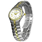 BUW Damen Uhr Analog mit 20 Swarovski-Steinen u539eb