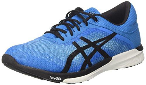 Asics Fuzex Rush, Chaussures de Gymnastique Homme, Bleu (Aqua Splash/Black/Diva Blue) 42 EU