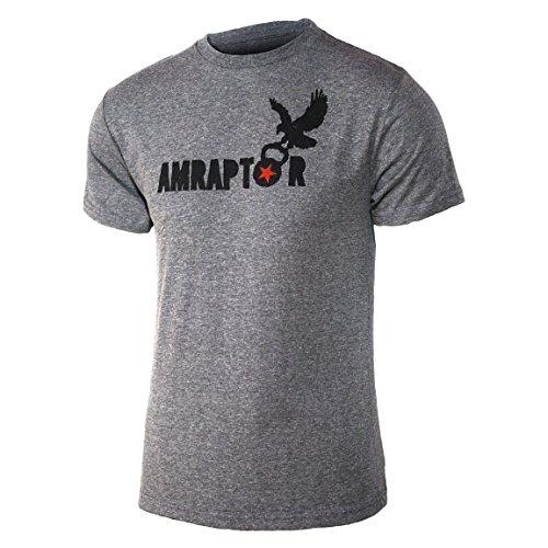 Jumpbox Fitness Herren T-Shirt Amrapor - AMRAP-Wow Triblend Workout, Grau, Herren, grau, Large (Lift Glocke,)