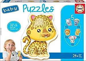 Educa Borrás- Animales Baby Puzzle (14197)