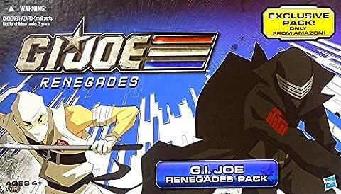 G.I. Joe Exclusive Renegades Pack mit Duke, Storm Shadow, Ninja Viper und Snake Eyes von Hasbro 2012