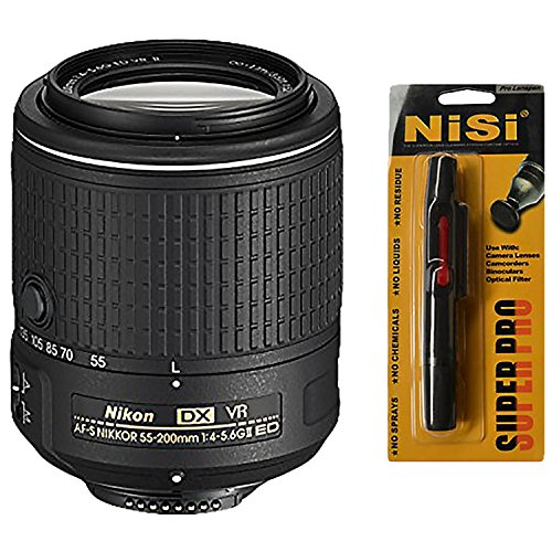 Cheapest Nikon 55-200 mm / F 4,0-5,6 AF-S DX G ED VR II 55 mm-Lens on Amazon