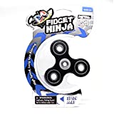 YoYo Factory Fidget Ninja Spinner de Metal - Negro