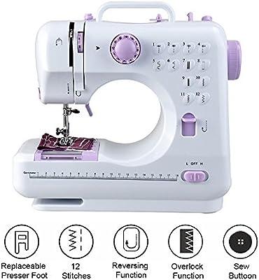 milkee Mini máquina de coser 8programas Haushaltsgeräte punto de programas