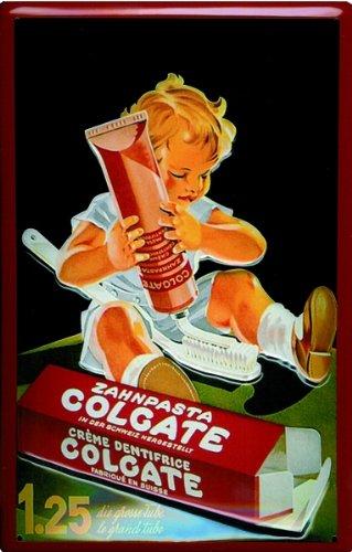 schild-alu-artdeco-colgate-kind-300x200mm