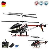 elicottero con videocamera radiocomandato a 3,5 canali e 2,4 GHz, con giroscopio ecrash kit, RTF, set completo
