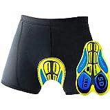 Oleein Ciclismo Mutande Gel 3D Imbottite Bicicletta Pants Uomo& Le Signore Pantaloncini Pantaloni Bici Biancheria Intima