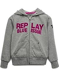Replay Sg2373.050.20578, Sweat-Shirt à Capuche Fille