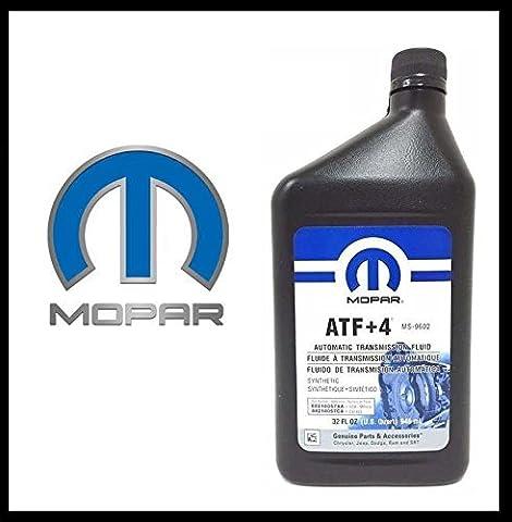 Original Mopar Huile pour transmission automatique ATF + 4 Contenu 946 ml
