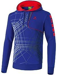 Erima sweat-shirt à capuche pour homme player 3.0