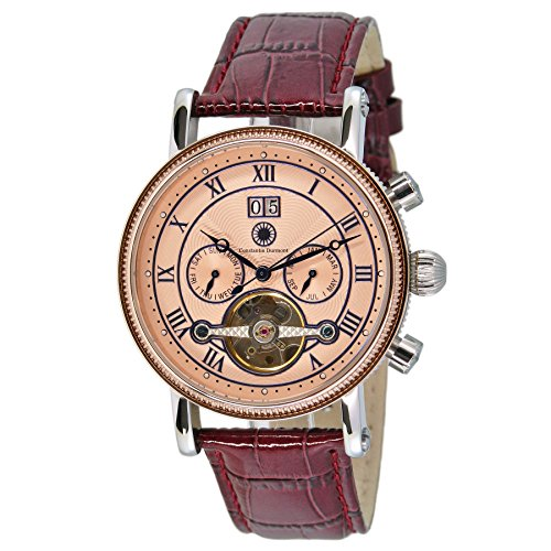 Constantin Durmont Gents Watch XL Analogue Automatic Leather Toledo CD Tole-At-Lt-PK Ctrl -
