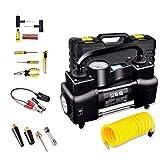 Tragbare Auto Luftpumpe Hochleistungs-Doppel-30-Zylinder-Mehrzweckpumpe 12V Detektierbarer Reifendruck Geeignet für die meisten Modelle