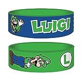 Nintendo - Super Mario - Luigi - Armband für Sammler - 24x65x1 mm dehnbar