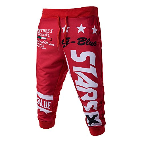 hahashop2 Herren Shorts Fitness - Hosen & Shorts - Casual Casual Shorts für Männer