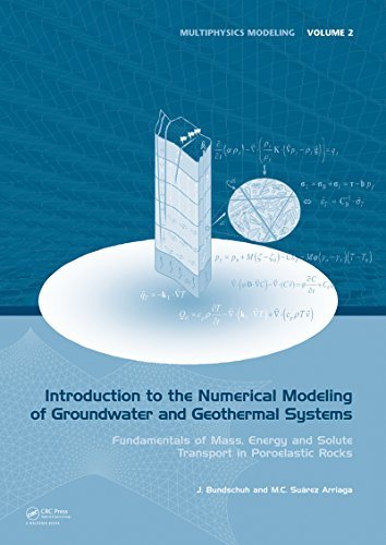 Introduction to the Numerical Modeling of Groundwater and Geothermal Systems: Fundamentals of Mass, Energy and Solute Transport in Poroelastic Rocks (Multiphysics Modeling Book 2) (English Edition)