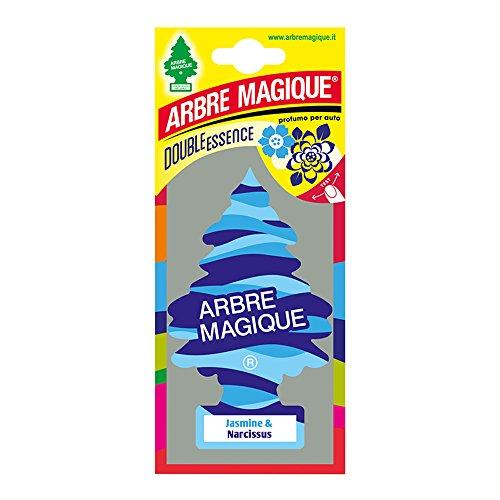 Preisvergleich Produktbild Abremagique 1710547 Lufterfrischer Wunderbaum Jasmin & Narcissus, Blau