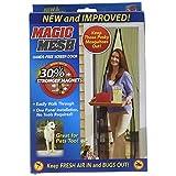 As Seen On TV - MM011124 - Tenda per porte magnetico, zanzariera'Magic Mesh'