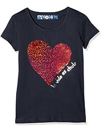 Desigual Ts_chivite, T-Shirt Fille