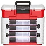 GEDORE red Werkzeugbox / Werkzeugkiste / Werkzeugkoffer leer / Schlagfester Kunststoff (Polypropylen)