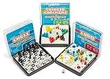 Mini Reise Spiele Ludo, Schach oder chinesischen Dame