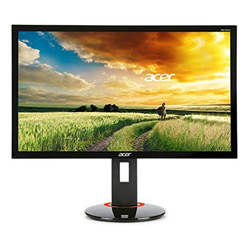 """Acer XB270HAbprz Monitor 27"""" LED, Risoluzione 1920 x 1080, Contrasto 100M:1, Luminosità 300 cd/m2, Tempo di Risposta 1 ms, Nero"""