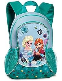 Preisvergleich für Kinder Rucksack - Disney - Die Eiskönigin – Völlig unverfroren - Anna und ELSA - mit Hauptfach - türkis