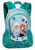 Kinder Rucksack - Disney - Die Eiskönigin – Völlig unverfroren - Anna und ELSA - mit Hauptfach - türkis